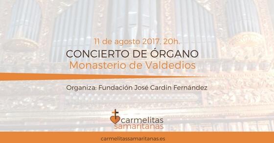 concierto de organo en monasterio de valdedios