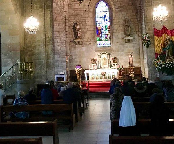 Retiro en la parroquia de San Nicolás de Bari de Avilés