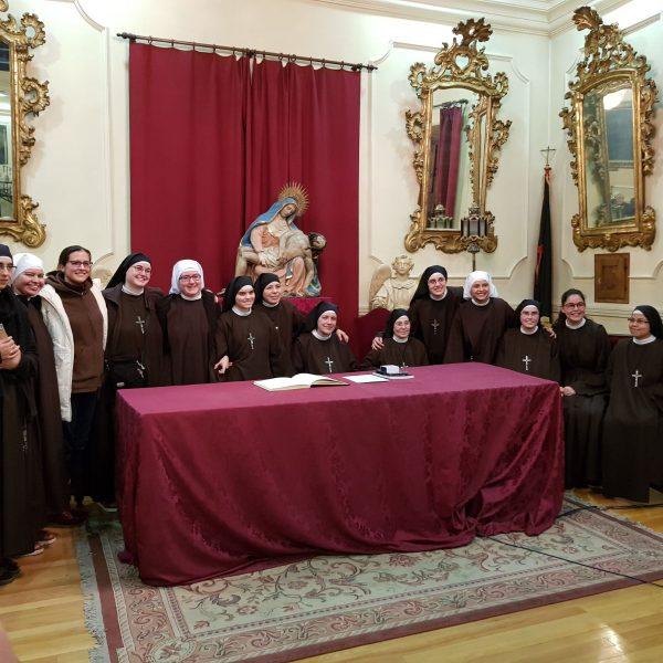 Charla en la Cofradía de Nuestra Señora de las Angustias